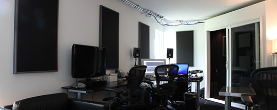 audio studio editing suite