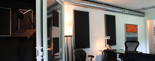 audio studio recording suite