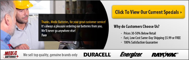 Duracell PC1604 - Current Specials