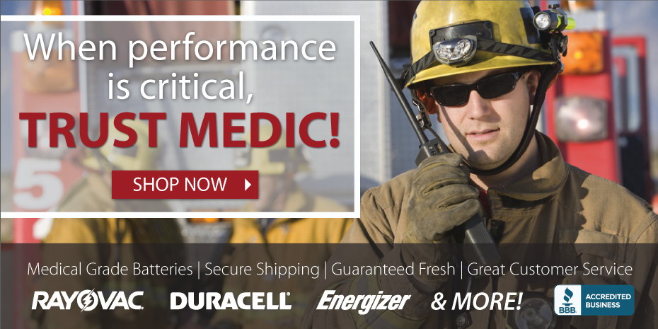 When performance is critical, trust Medic Batteries!