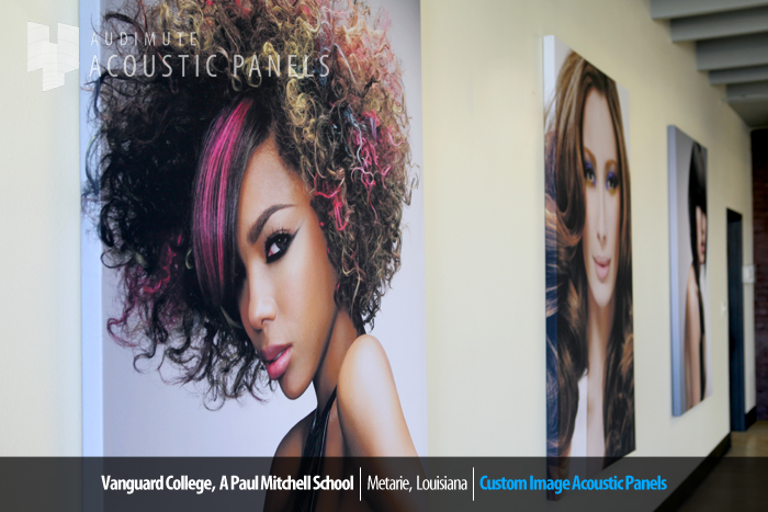 Paul Mitchell Salon School Acoustic Panels 2