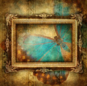 art butterfly frame