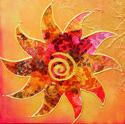 Art Sun Swirl