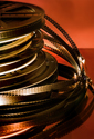 Cinema Theater Reel Stack