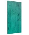 Deep Teal Pine Panel