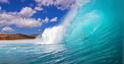 landscape wave crest