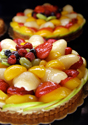 Restaurant Fruit Tart
