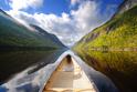 Serene Landscapes Boat