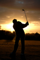 Sports Golf Sunset