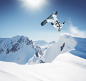 Sports Snowboard Flip