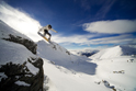 Sports Snowboard Jump