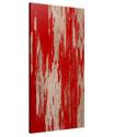 Weathered Red Peel Panel