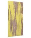 Weathered Yellow Peel Panel