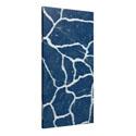 White Veins Blue Marble Panels
