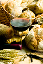 wine bread