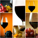 wine grape glass