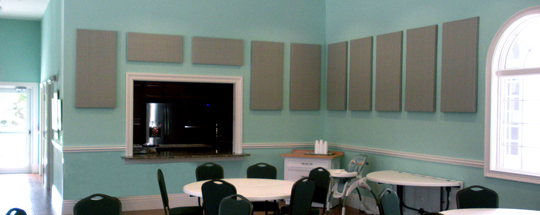 Social Hall Standard Fabric Panels