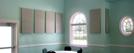 Social Hall Standard Acoustic Panels