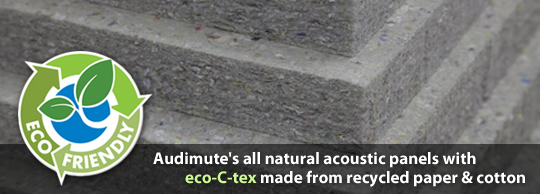 Eco-C-Tex Alternative to Acoustic Foam Panels