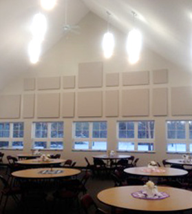 Fellowship Hall Noise Reduction Case Study