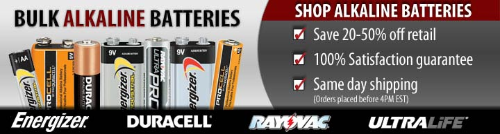 alkaline 9v batteries