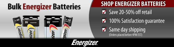 Bulk Energizer Batteries