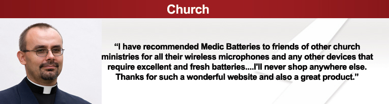 church sound system equipment, church microphones, church batteries
