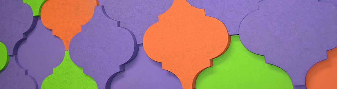 Modular Acoustic Tiles | 3D Acoustic Tiles
