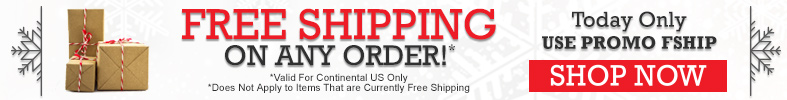 Free Shipping on All Orders - [12 Days of Holiday Sales]