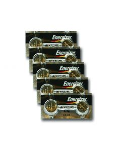 Carton of 6 blister packs of 1 battery
