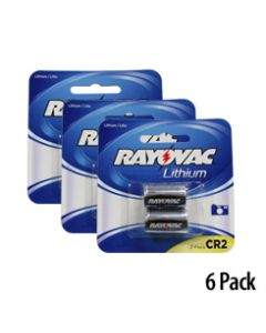 Blister Pack Lithium CR2 - 2 Per Card