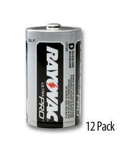 Contractor packs of 12 batteries