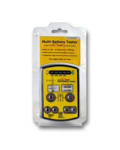 Tests more than 15 battery types.