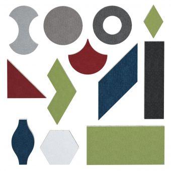 AcoustiFelt™ Fabric Acoustic Shapes