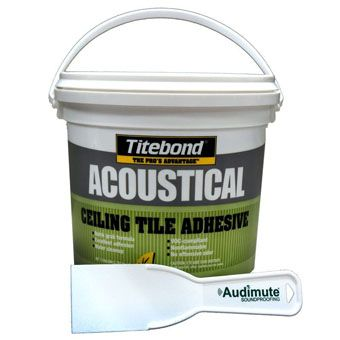 Titebond® Acoustic Ceiling Tile Adhesive