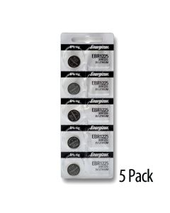 Energizer CR1225 Lithium Coin Battery 3.0 Volt 5/Pack (BCR1225/CR1225)