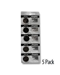 Strip of 5 batteries