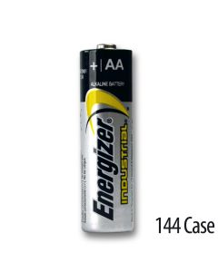 Energizer Industrial AA Alkaline Battery 144/Case (EN91)