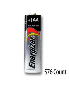 Energizer AA Alkaline Bulk Batteries 576 Count - 4 cartons of 144 batteries
