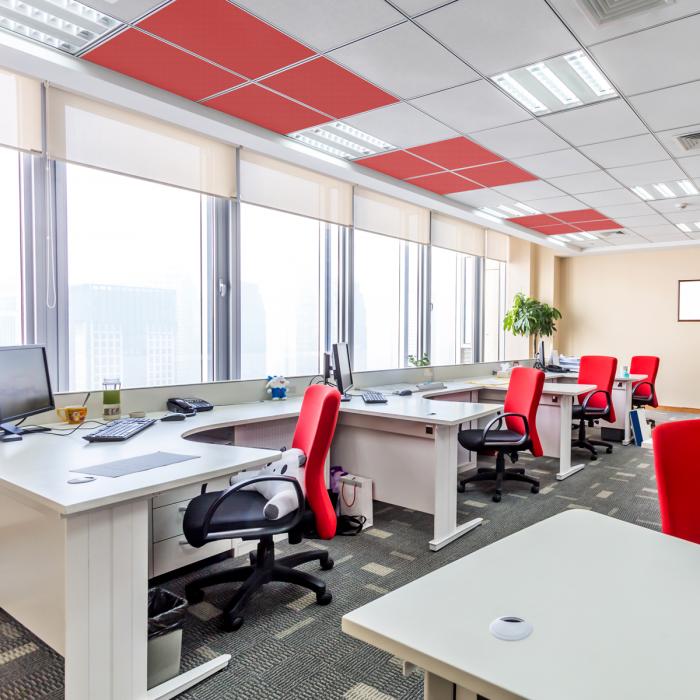 Office Acoustic Drop Ceiling Tiles