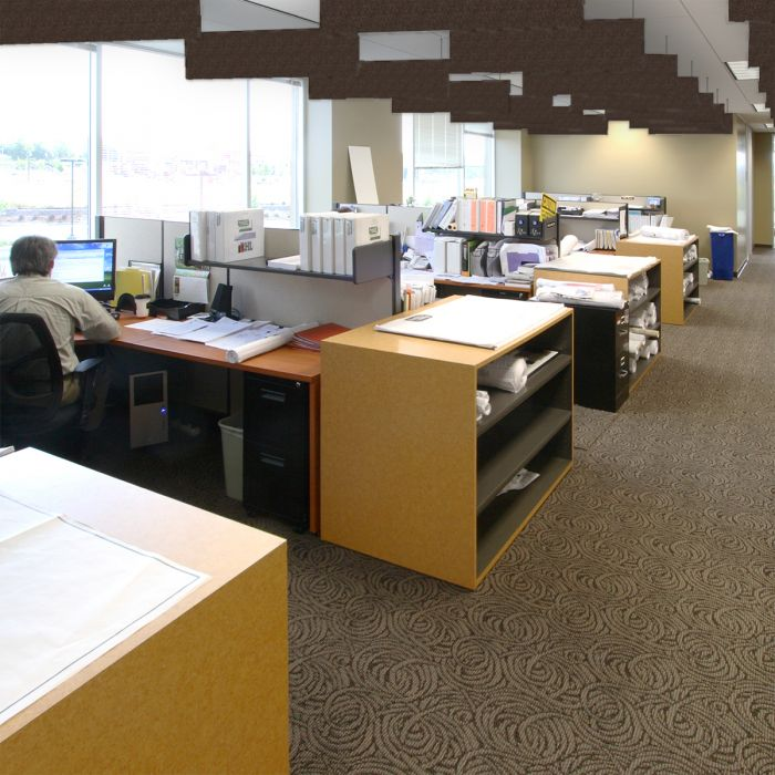 Audimute Acoustic Ceiling Baffles Soundproofing For Office