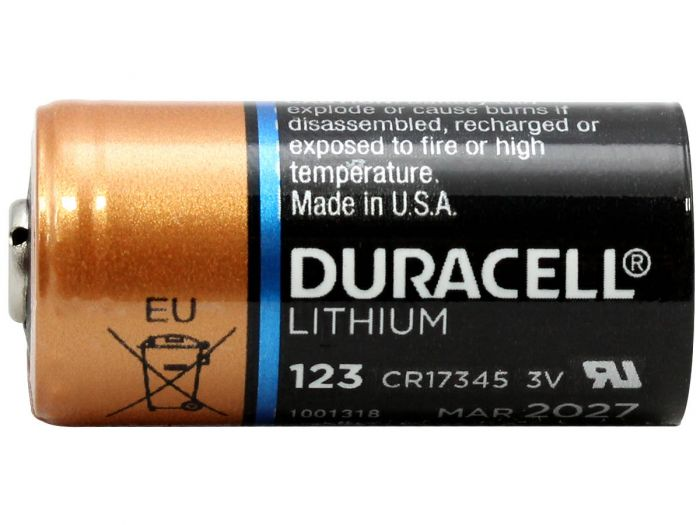 Duracell Lithium 123 Battery Cr123a Flashlight Lithium Batteries