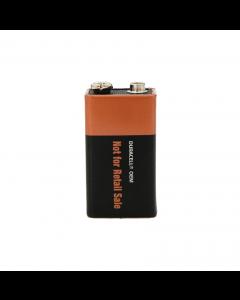 Duracell Coppertop 9 Volt Alkaline Batteries in Bulk UNCAPPED 72/Case (MN1604)