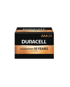 Duracell Coppertop AAA Battery Bulk 144/Case (MN2400) - 24 Packs