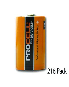 3 cases of 72 batteries