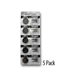 Strip of 5 batteries