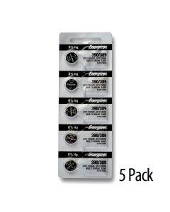 Carton of 5 blister packs of 1 battery