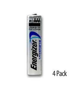 Blister pack of 4 batteries