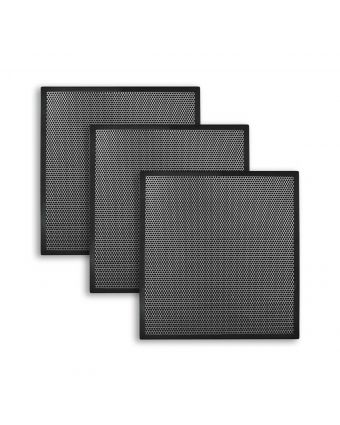 Metal Acoustical Wall Panels in a Room