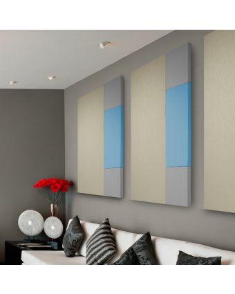 fabric wrapped frameless acoustic panels photo